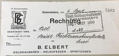 Briefkopf Elbert