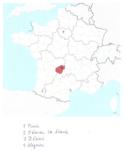 Anna in Frankreich
