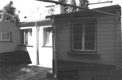 provisorische  Unterkunft